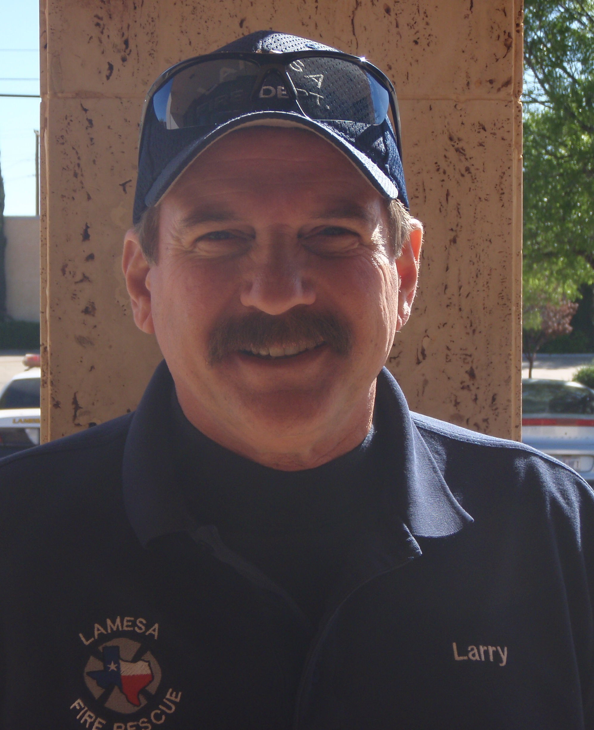 Fire Chief Larry Duyck